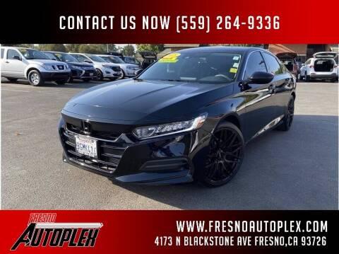 2018 Honda Accord for sale at Carros Usados Fresno in Clovis CA