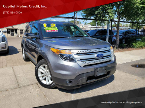 2013 Ford Explorer for sale at Capital Motors Credit, Inc. in Chicago IL