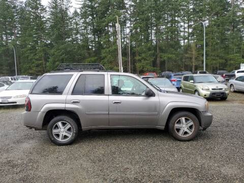 2007 Chevrolet TrailBlazer for sale at WILSON MOTORS in Spanaway WA
