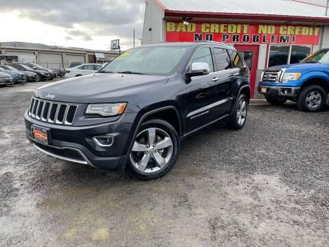 2014 Jeep Grand Cherokee for sale at Yaktown Motors in Union Gap WA