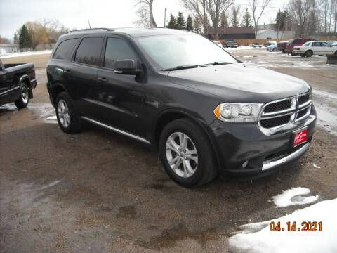 2011 Dodge Durango for sale at Ron Lowman Motors Minot in Minot ND
