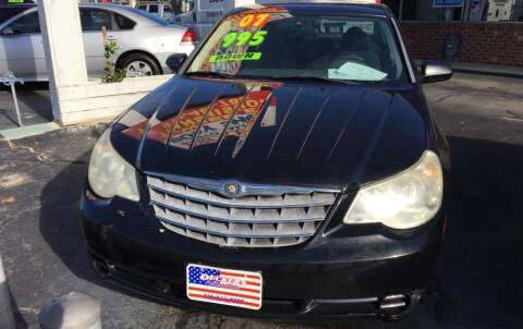 2007 Chrysler Sebring for sale at Deckers Auto Sales Inc in Fayetteville NC