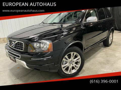 2014 Volvo XC90 for sale at EUROPEAN AUTOHAUS in Holland MI