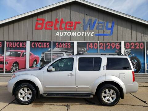 2011 Nissan Pathfinder for sale at Betterway Automotive Inc in Plattsmouth NE