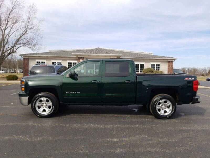 2015 Chevrolet Silverado 1500 for sale at Pierce Automotive, Inc. in Antwerp OH