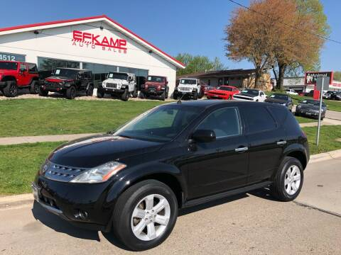 2007 Nissan Murano for sale at Efkamp Auto Sales LLC in Des Moines IA
