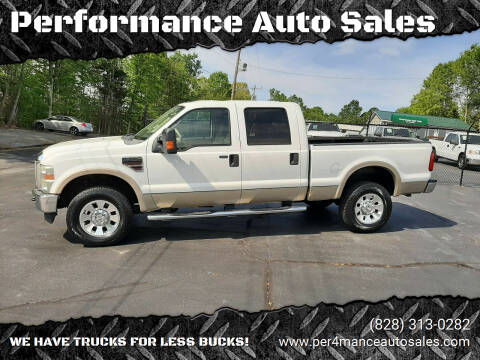 2008 Ford F-350 Super Duty for sale at Performance Auto Sales in Hickory NC