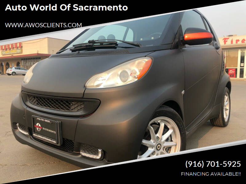 2008 Smart fortwo for sale at Auto World of Sacramento Stockton Blvd in Sacramento CA