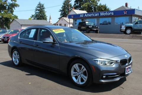 2017 BMW 3 Series for sale at All American Motors in Tacoma WA