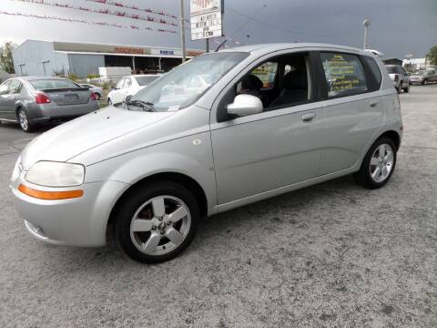 2008 Chevrolet Aveo for sale at Budget Corner in Fort Wayne IN