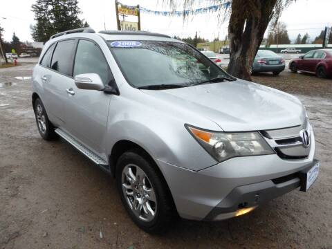2008 Acura MDX for sale at VALLEY MOTORS in Kalispell MT