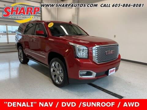 2015 GMC Yukon for sale at Sharp Automotive in Watertown SD