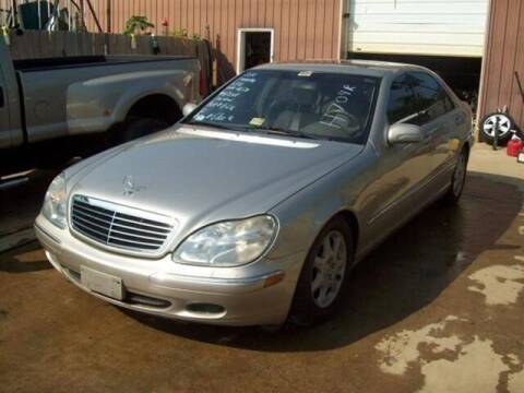 2000 Mercedes-Benz S-Class for sale at East Coast Auto Source Inc. in Bedford VA