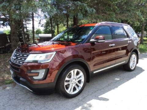 2016 Ford Explorer for sale at HUSHER CAR COMPANY in Caledonia WI