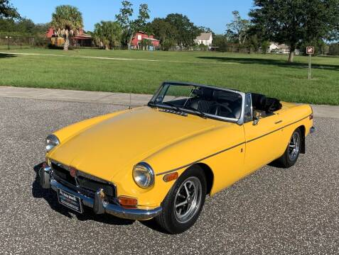 1972 MG MGB for sale at P J'S AUTO WORLD-CLASSICS in Clearwater FL