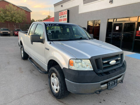 2006 Ford F-150 for sale at Legend Auto Sales in El Paso TX