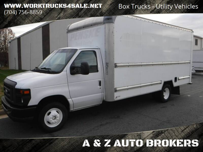 2015 Ford E-Series Chassis for sale at A & Z AUTO BROKERS in Charlotte NC