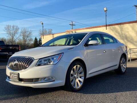 2016 Buick LaCrosse for sale at North Imports LLC in Burnsville MN
