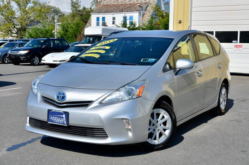 2013 Toyota Prius v for sale at Lighthouse Motors Inc. in Pleasantville NJ