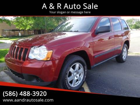 2009 Jeep Grand Cherokee for sale at A & R Auto Sale in Sterling Heights MI