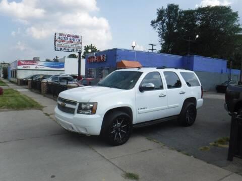 2007 Chevrolet Tahoe for sale at City Motors Auto Sale LLC in Redford MI