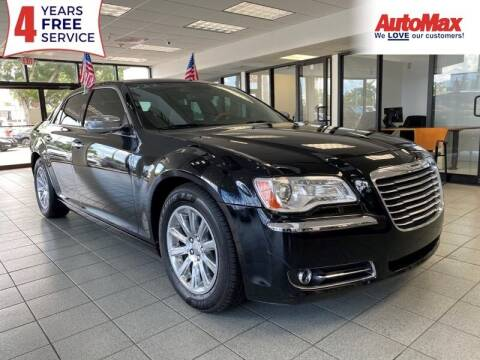 2013 Chrysler 300 for sale at Auto Max in Hollywood FL