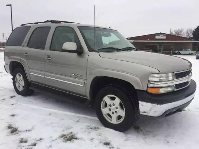 2002 Chevrolet Tahoe for sale at MATTHEWS AUTO SALES in Elk River MN