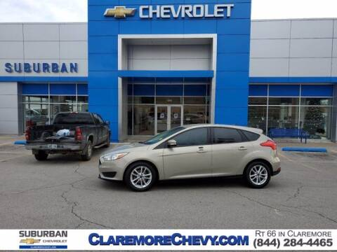 2015 Ford Focus for sale at Suburban Chevrolet in Claremore OK