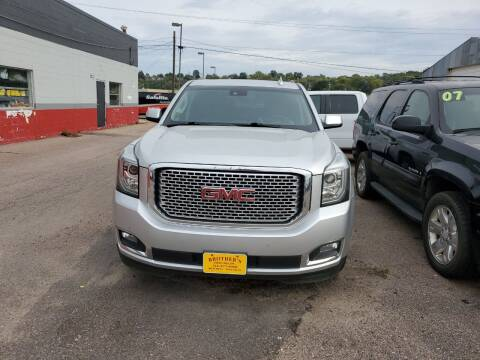 2016 GMC Yukon XL for sale at Brothers Used Cars Inc in Sioux City IA