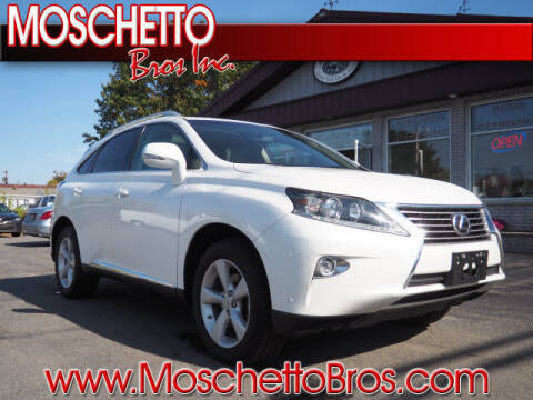 2015 Lexus RX 350 for sale at Moschetto Bros. Inc in Methuen MA