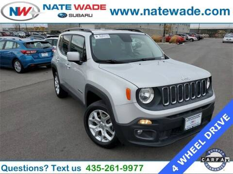 2016 Jeep Renegade for sale at NATE WADE SUBARU in Salt Lake City UT