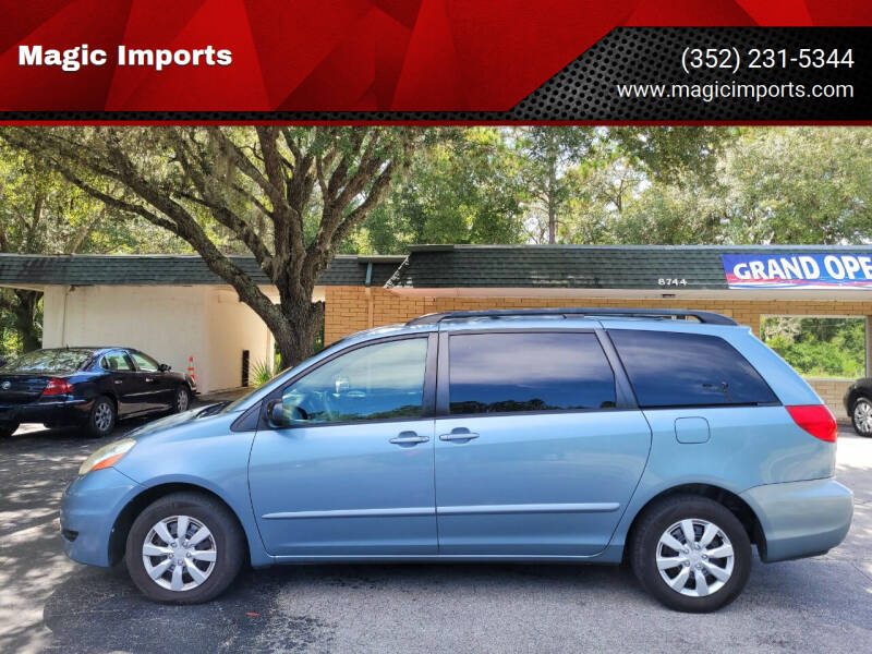 2006 Toyota Sienna for sale at Magic Imports in Melrose FL