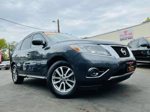 2013 Nissan Pathfinder for sale at Alpha AutoSports in Roseville CA