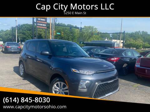 2020 Kia Soul for sale at Cap City Motors LLC in Columbus OH