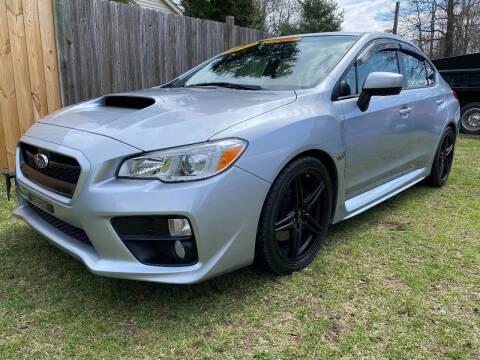 2017 Subaru WRX for sale at ALL Motor Cars LTD in Tillson NY