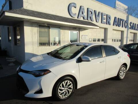 2017 Toyota Corolla for sale at Carver Auto Sales in Saint Paul MN