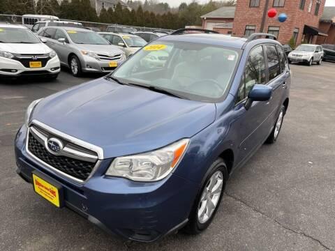 2014 Subaru Forester for sale at KINGSTON AUTO SALES in Wakefield RI