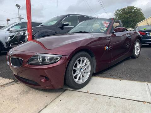 2003 BMW Z4 for sale at Park Avenue Auto Lot Inc in Linden NJ