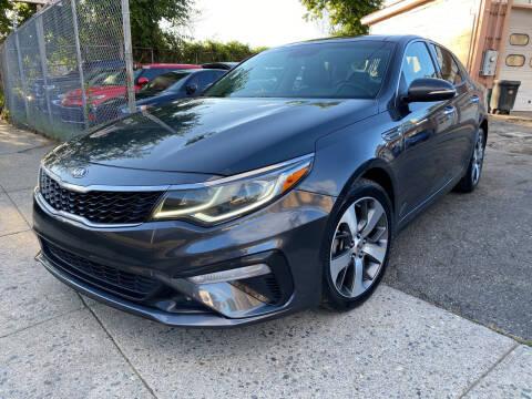 2019 Kia Optima for sale at Seaview Motors and Repair LLC in Bridgeport CT