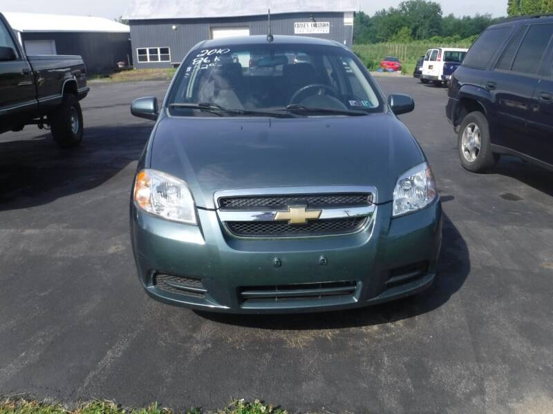 2010 Chevrolet Aveo for sale at Vicki Brouwer Autos Inc. in North Rose NY