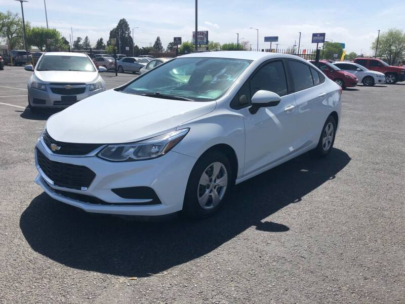 2016 Chevrolet Cruze for sale at Car & Truck Gallery in Albuquerque NM