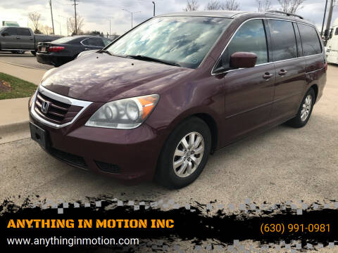 2008 Honda Odyssey for sale at ANYTHING IN MOTION INC in Bolingbrook IL