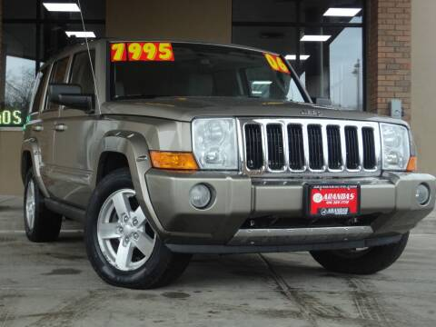 2006 Jeep Commander for sale at Arandas Auto Sales in Milwaukee WI
