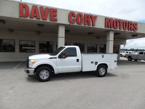 2016 Ford F-250 Super Duty for sale at DAVE CORY MOTORS in Houston TX