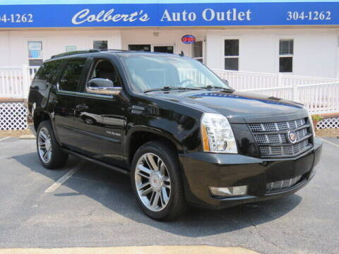 2013 Cadillac Escalade for sale at Colbert's Auto Outlet in Hickory NC