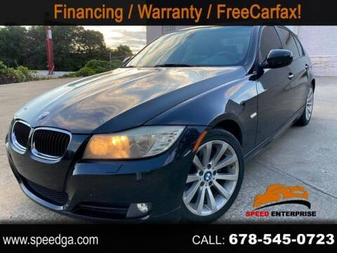 2011 BMW 3 Series for sale at JES Auto Sales LLC in Fairburn GA