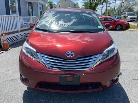 2015 Toyota Sienna for sale at Fuentes Brothers Auto Sales in Jessup MD