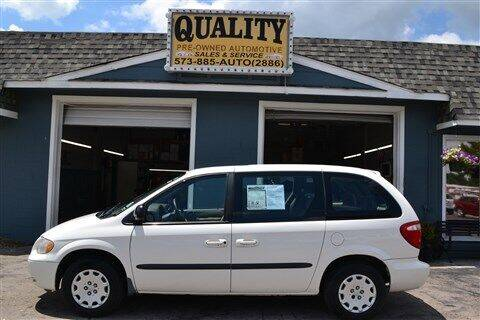 2003 Chrysler Voyager for sale at Quality Pre-Owned Automotive in Cuba MO
