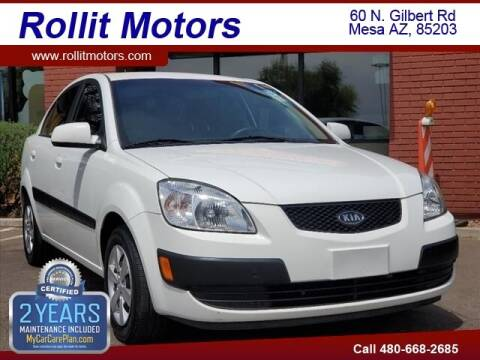 2009 Kia Rio for sale at Rollit Motors in Mesa AZ