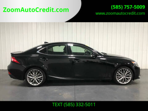 2015 Lexus IS 250 for sale at ZoomAutoCredit.com in Elba NY